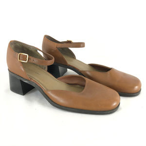 Naturalizer Womens Mules Shoes Chunky Heel Ankle S